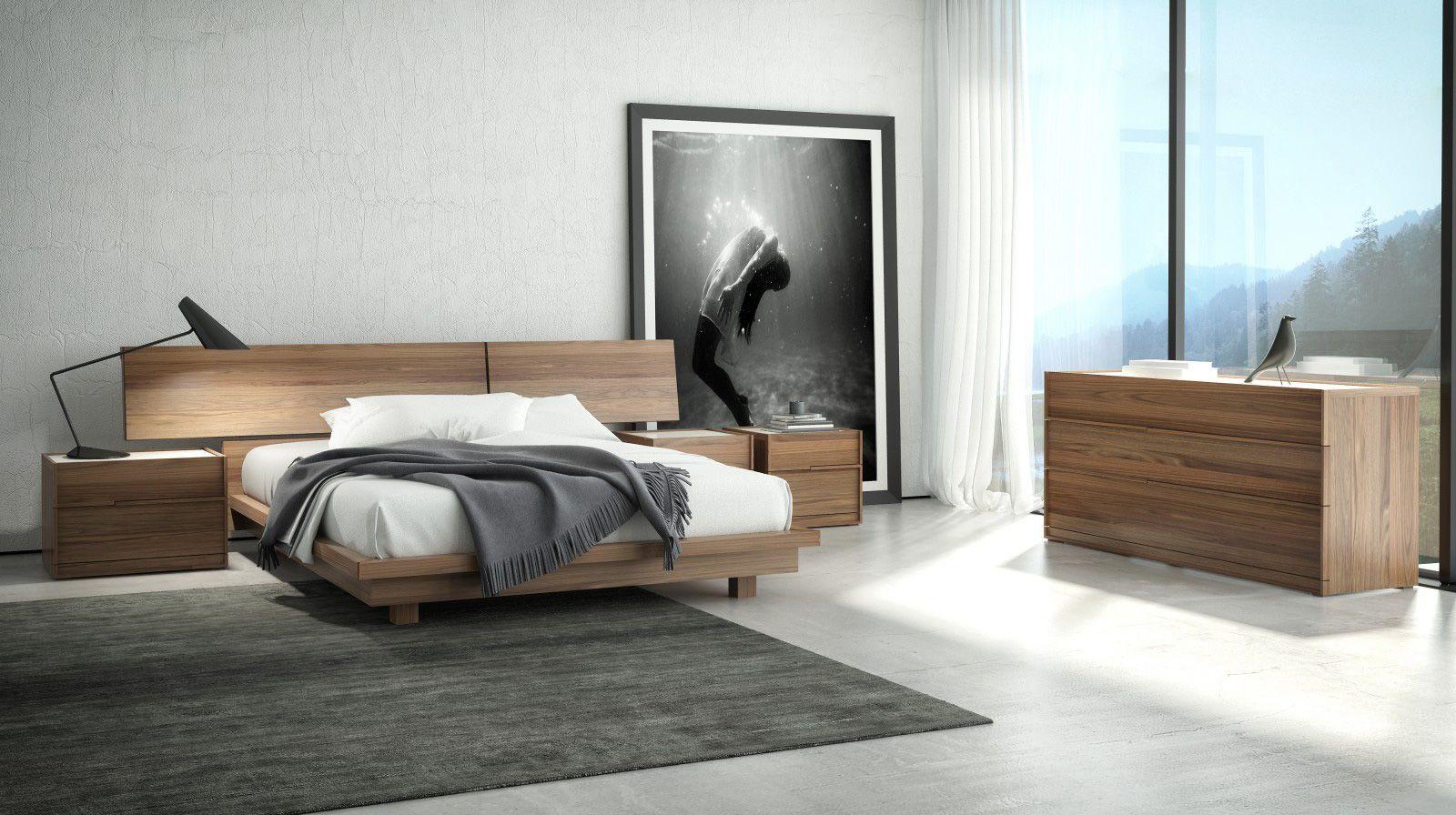 Master Bedroom PROJECT Pancel Pinterest Contemporary - Light walnut bedroom furniture