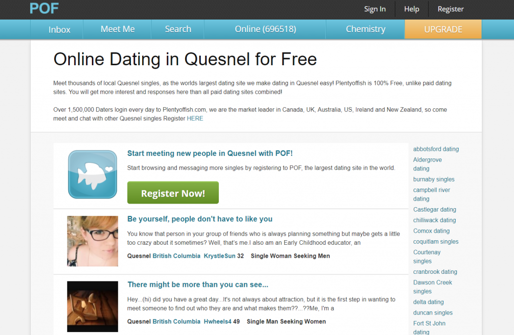 fish 4 free dating