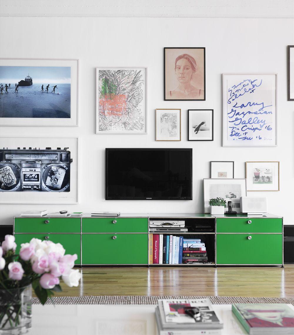 Meuble Bas Vert D Co Pinterest Meuble Bas Vert Et Meubles # Salon Meuble En Vert