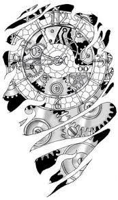 Risultati Immagini Per Half Clock Tattoo Design Tatoeage Ideeen Klok Tattoo Ontwerp Tatoeages