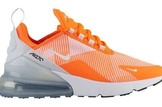 Release Date: Nike Air Max 270 Total Orange Above you will