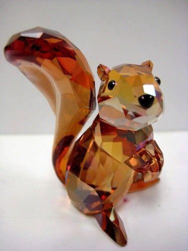 105717a49d53 Cute squirrel Swarovski crystal figurine!