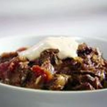Beef Chili (No Frijoles!)