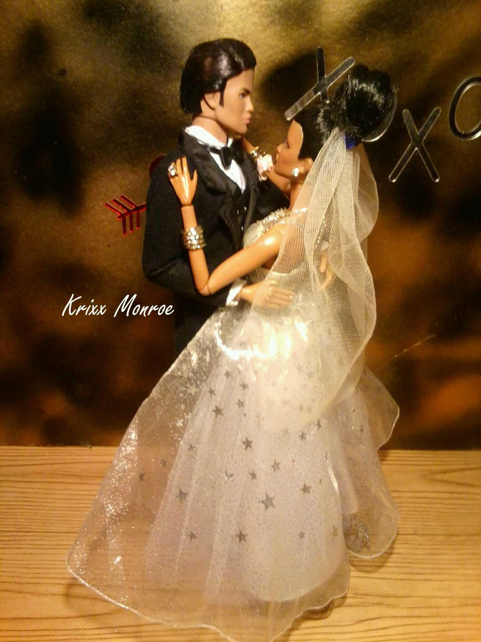 Doll wedding dress  Damon u Dominique wedding Krixxx Monroe flickr   qw  Barbie
