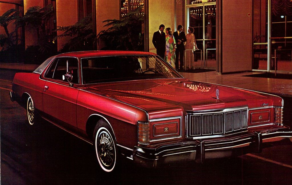 1978 Mercury Marquis. Never saw any of the late 70s era with these ...