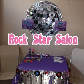 Rock Star Party Salon