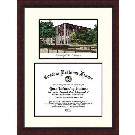 University of Texas, San Antonio 11 inch x 14 inch Legacy Scholar Diploma Frame, Multicolor