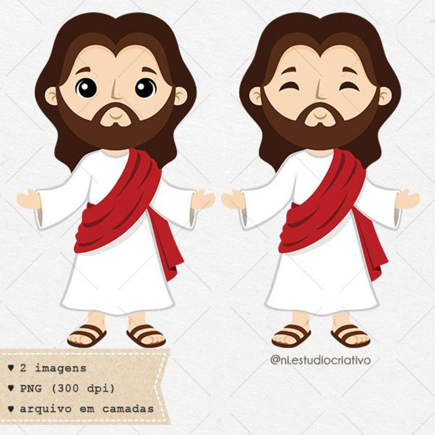 Kit Digital Jesus Cristo Desenho Jesus Desenhos Biblicos Catequese