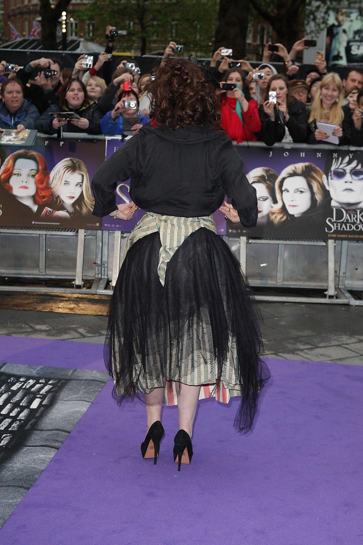 Dark Shadows London Premiere - Helena Bonham Carter Photo (30783717) - Fanpop fanclubs