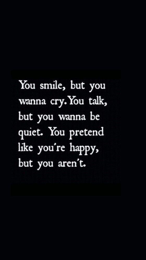 Unhappy, sad, sadness, depression, quote, stress Депрессия