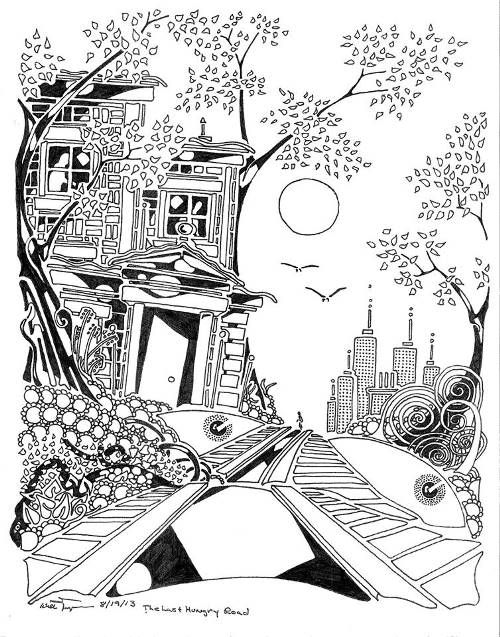 Spooky Door Colouring Pages Page 2 Coloring Pages Coloring Books Colouring Pages