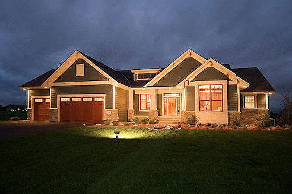 Craftsman Style House Plan 1 Beds 1 5 Baths 1918 Sq Ft Plan 51 351 Ranch Style House Plans Unique House Plans Ranch House Plans