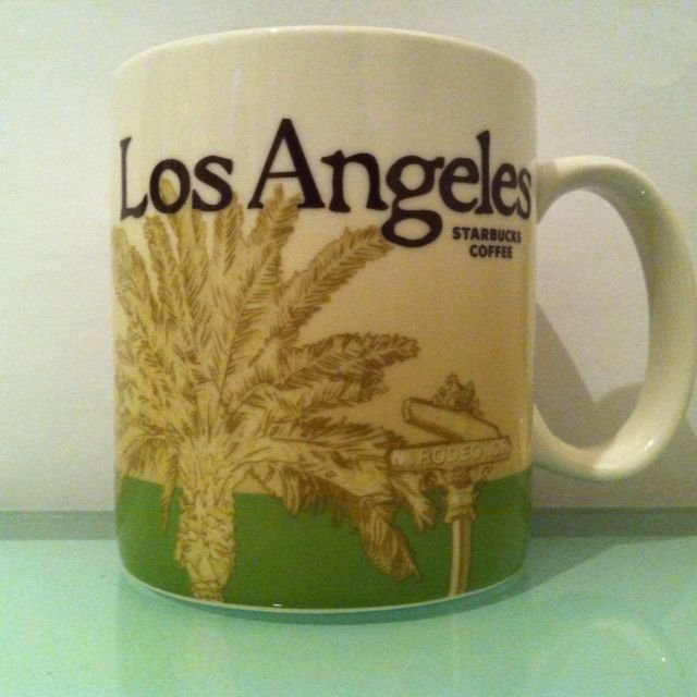 Starbucks City Mug. My new souvenir obsession. I want one from everywhere I've been (states and cities!!!)