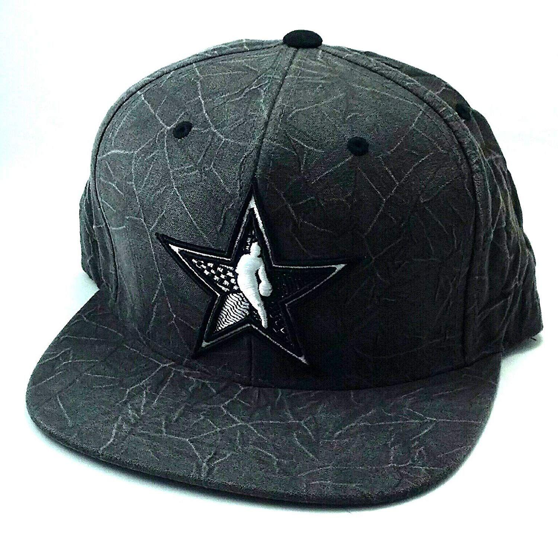 4510168e1 Mitchell & Ness Brooklyn Nets NBA All Star New Jersey Black Gray ...
