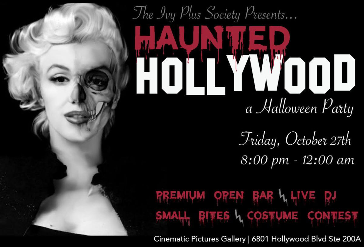 Hollywood Halloween Party 2020 LA: Haunted Hollywood Halloween Party – The Ivy Plus Society