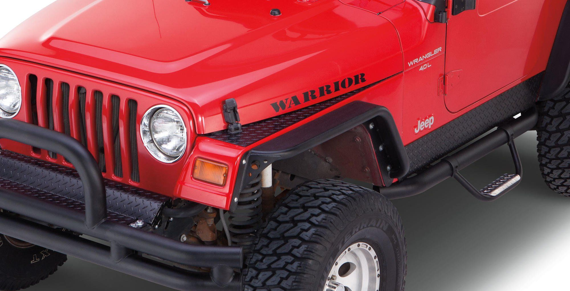 Front Fender Covers Like The Front Fender Rock Protectors These
