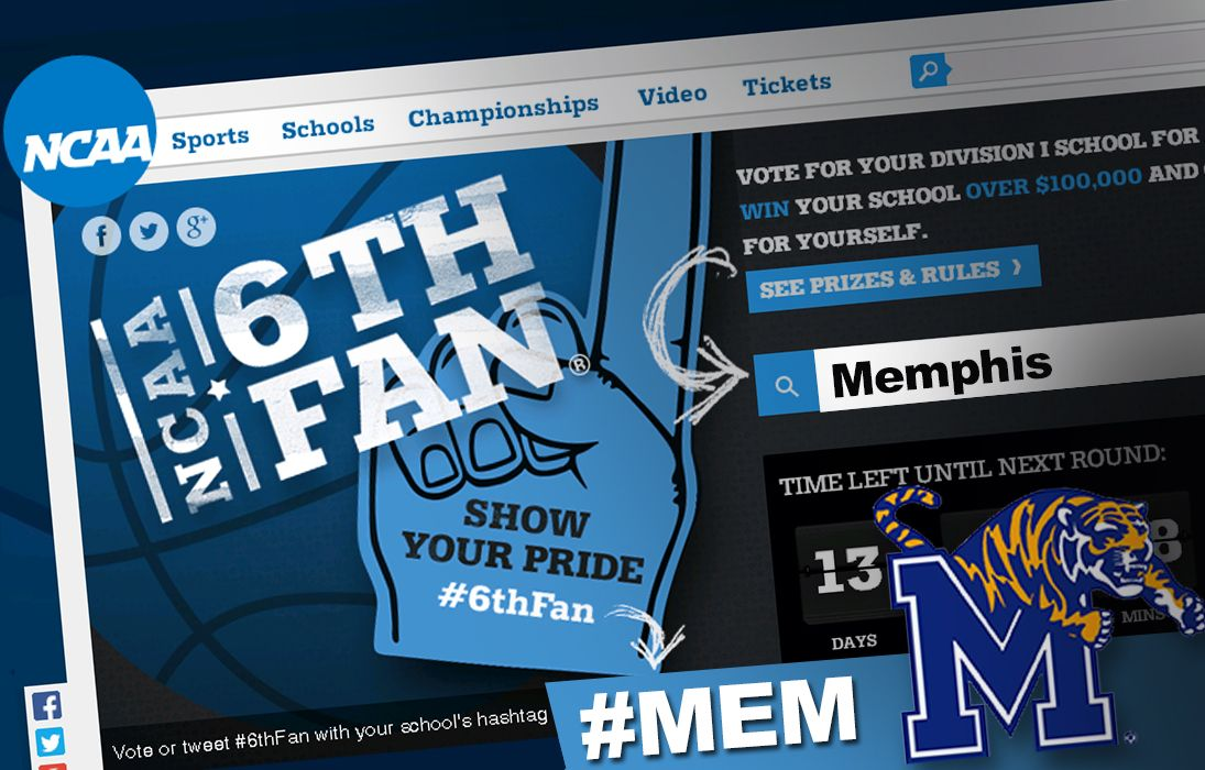 It's time for Tiger fans to vote in the NCAA 6th Fan