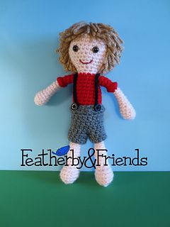 Sam - Boy Doll - Crochet Pattern by Alicia Moore of Featherby & Friends