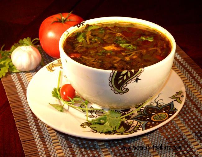 Peppery Mulligatawny Soup with Fresh Tomatoes & Cilantro ! #mulligatawnysoup