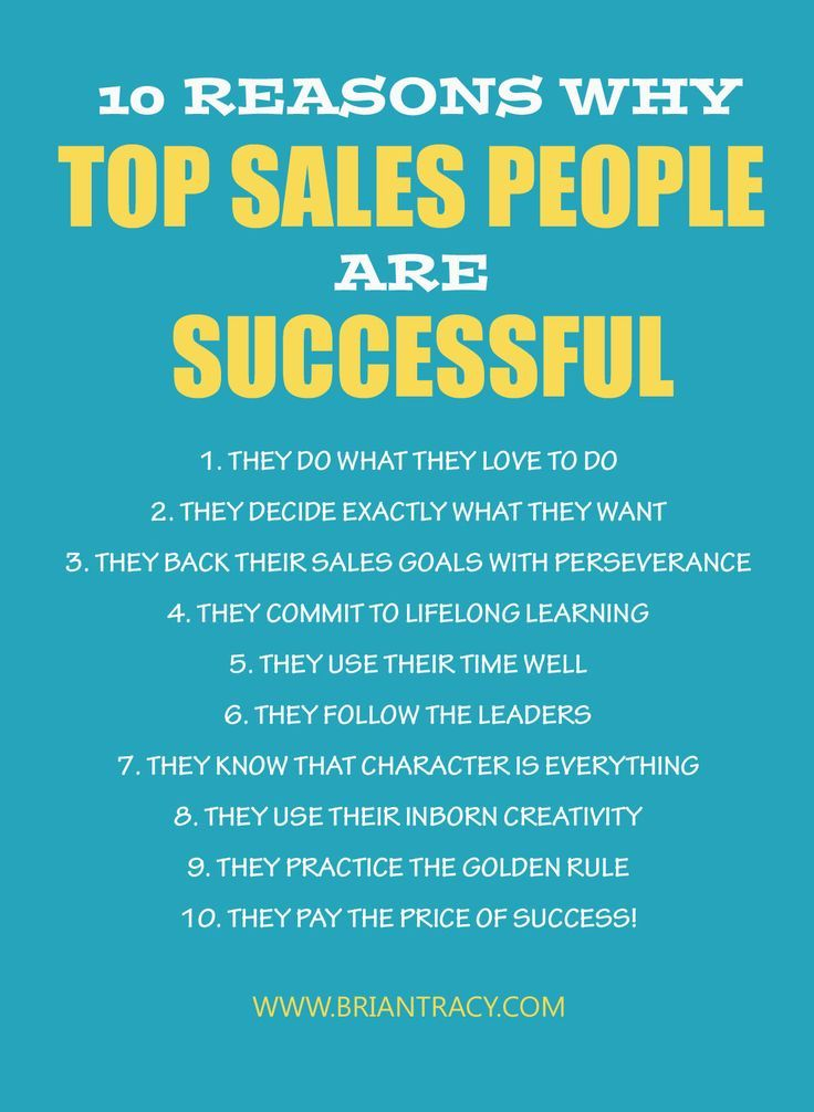 being successful in a sales career essay Follow your passions and success will follow  by joao  give us a good chance of being paid well  jobs, which outlines seven key factors that are responsible for jobs' success the article .