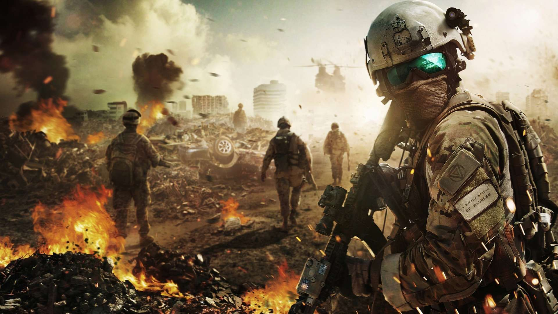 Battlefield Soldier HD Wallpaper 1080p Gaming wallpapers