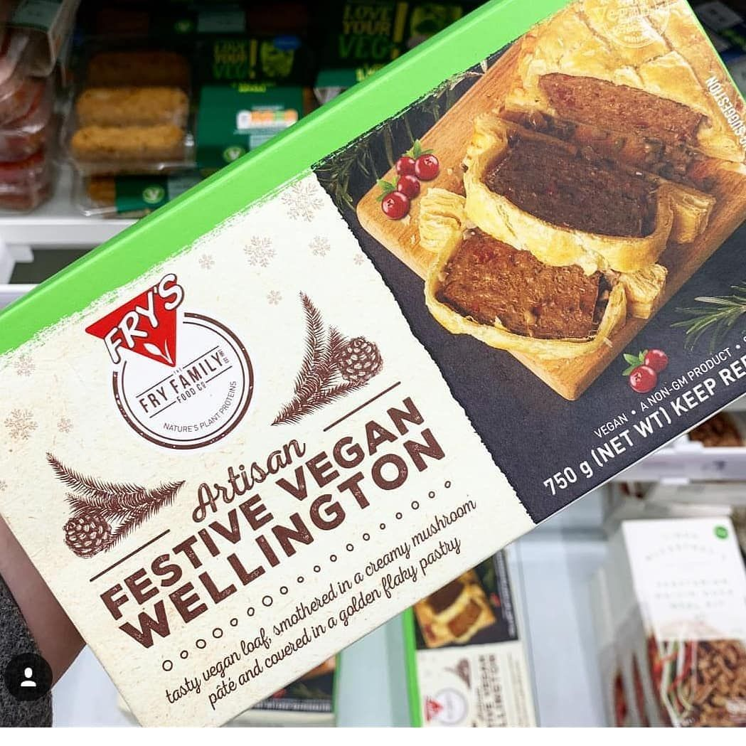 One Lucky Person Found The Frys Vegan Wellington At