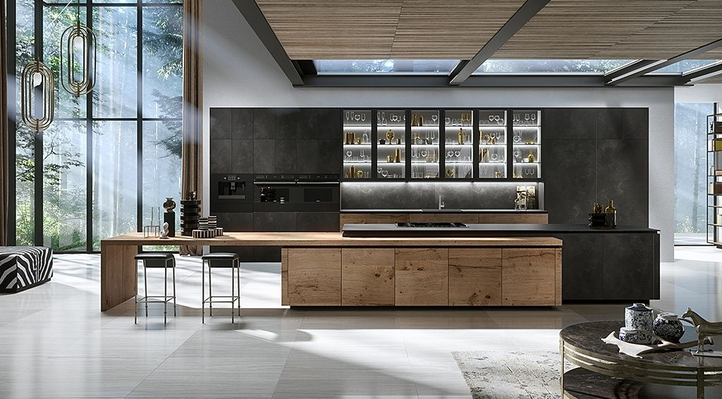 Luxury Modern Kitchen Designs Snaidero Usa Italian Kitchen