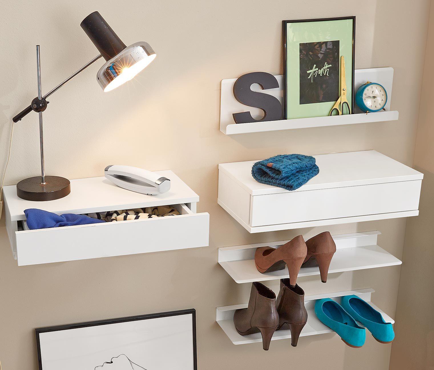 wandregal mit schublade 49 95 online cravings pinterest wandregal regal und wandregal. Black Bedroom Furniture Sets. Home Design Ideas