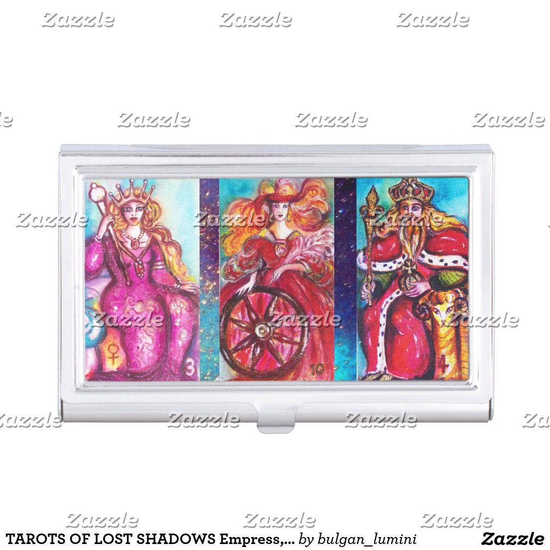 TAROTS OF LOST SHADOWS Empress, Emperor, Fortune Business Card ...