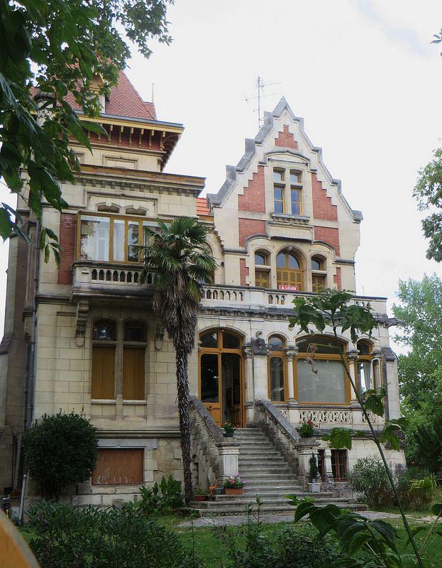 villa art nouveau ville dhiver arcachon gironde