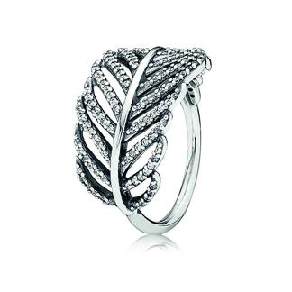 anello pandora foglie