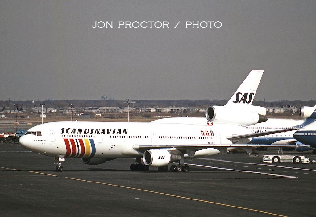Jon Proctor New York City Through The Years In 2020 Aviation Airplane Scandinavian Airlines System Sas Airlines