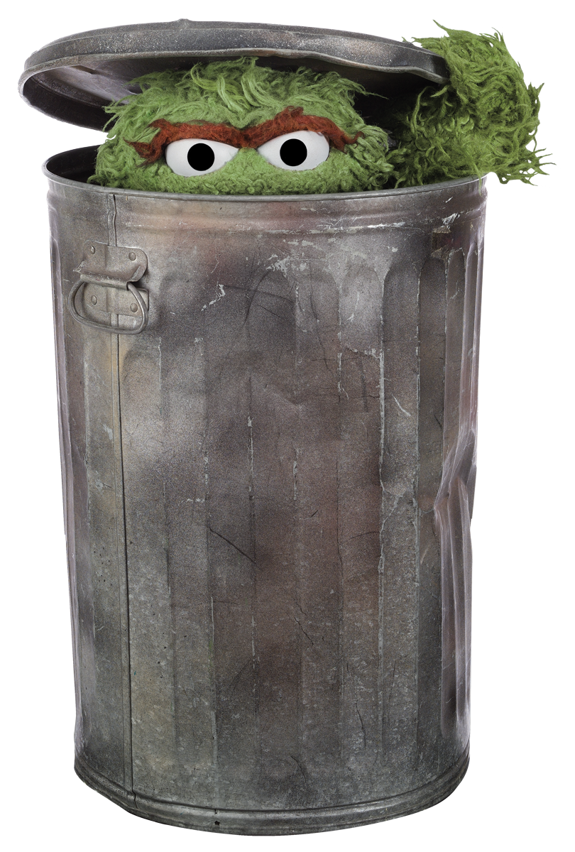 Like All Grouches Oscar S Mission In Life Is To Be As Miserable And Grouchy As Possible And Pass That Feeling On To Eve Oscar The Grouch Sesame Street Grouch