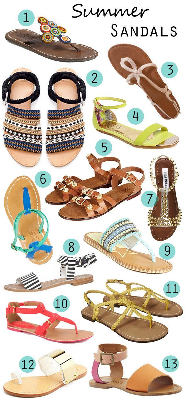 Mitkä sandaalit sinä valitsisit? #sandaalit