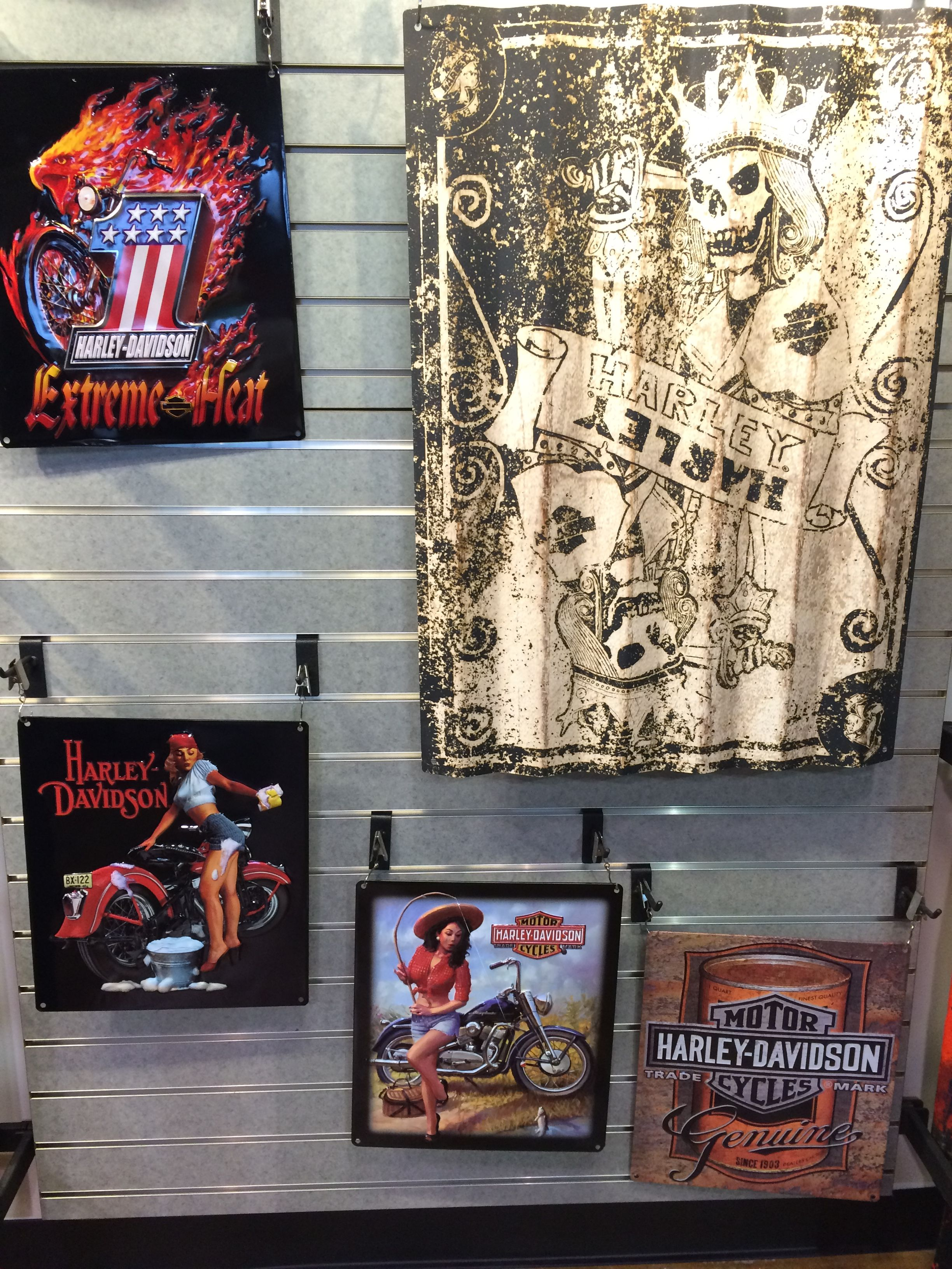 Pin By Speedway Harley Davidson On Motorclothes Printed Shower
