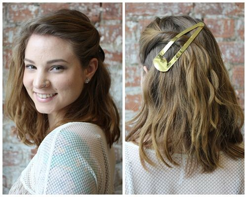 3 Ways To Wear An Oversize Barrette Birchly KhcPRb Haircut ImagesShoulder Length HaircutsHairstyle TutorialsHair