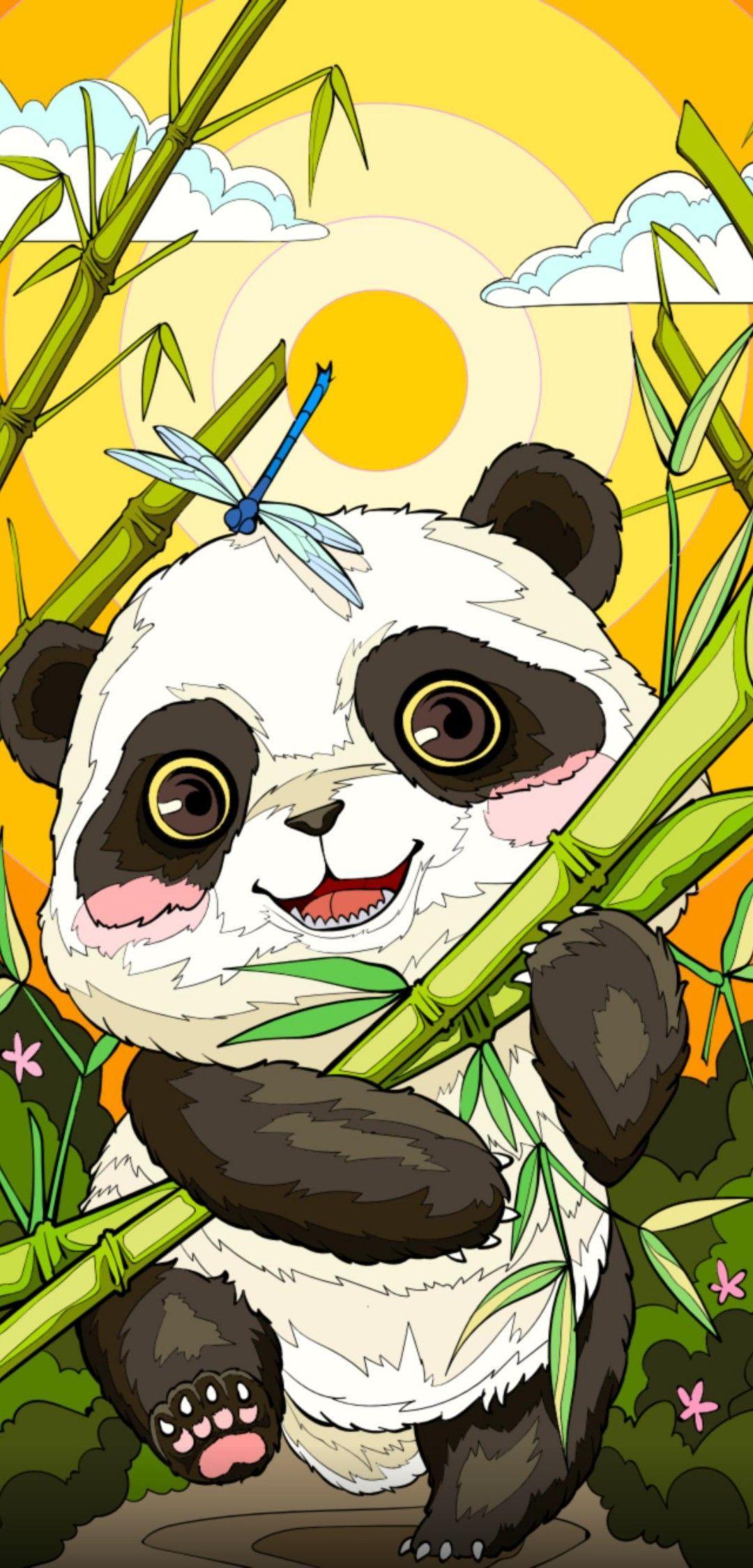 Untitled in 2020 Panda art, Cute disney drawings, Kawaii