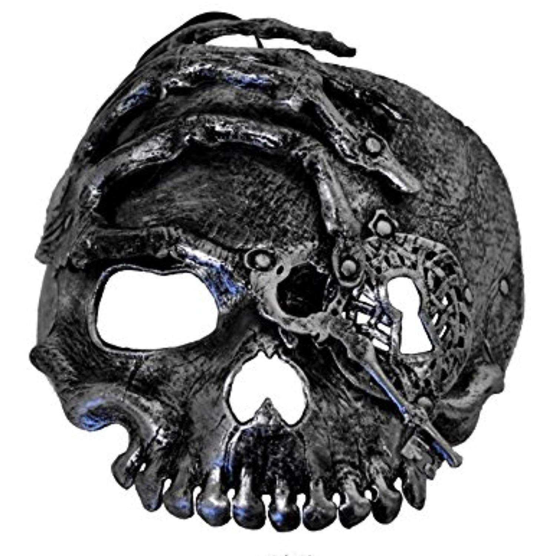 Pirate Skeleton Mask Adult Mens Womens Skull Steampunk Key
