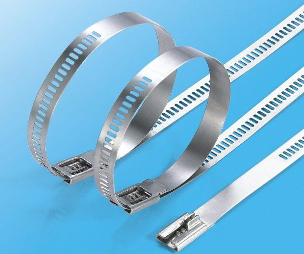PVC Coated Stainless Steel Cable Ties_All Fine Electric Co