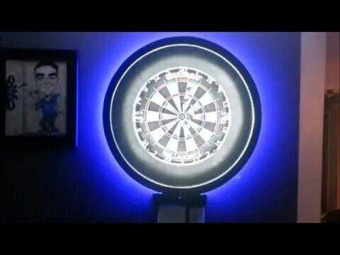 Dartboard beleuchtung