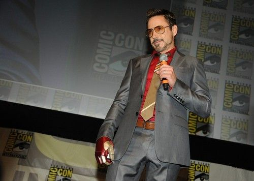 Robert Downey Jr - Iron Man 3 Comic-Con panel, July 14th 2012