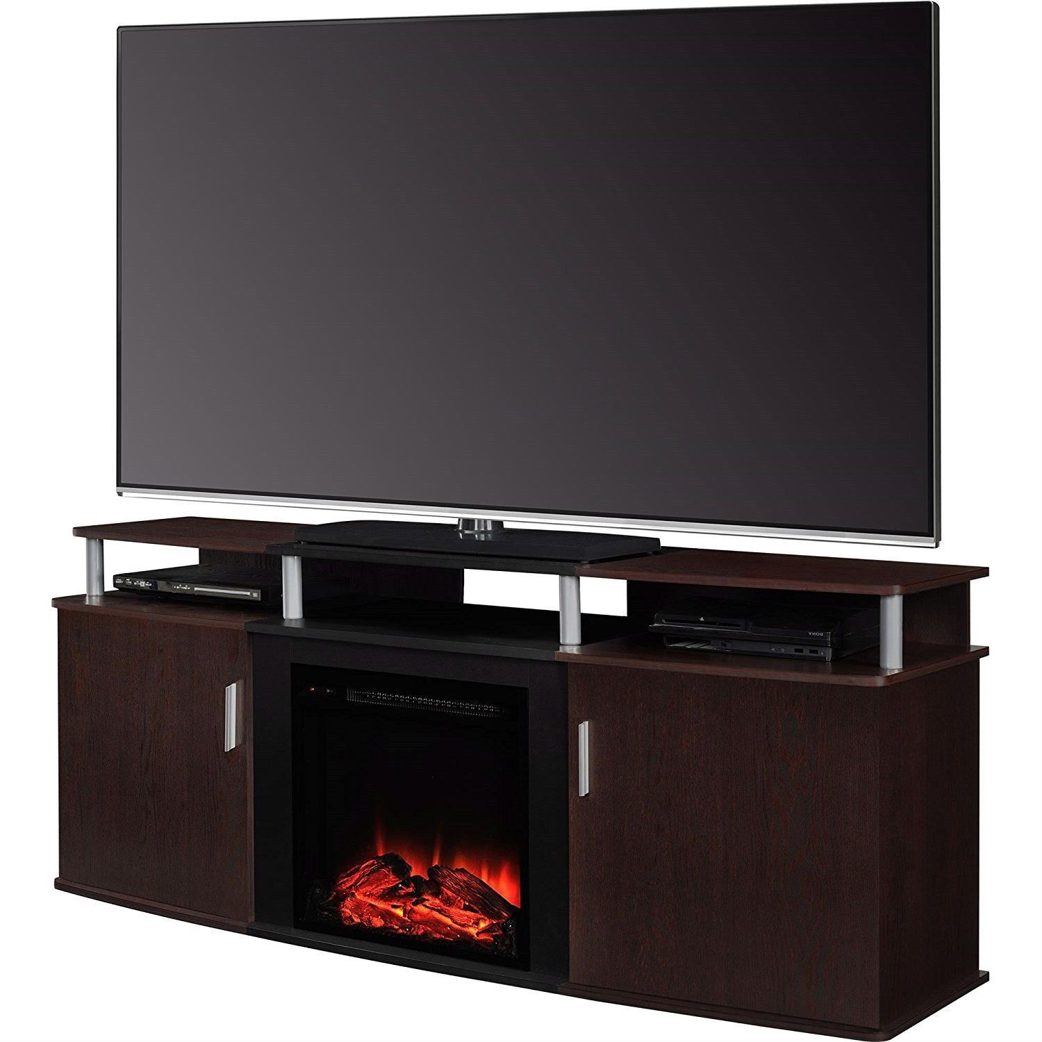 Electric fireplace tv stand and Fireplace …