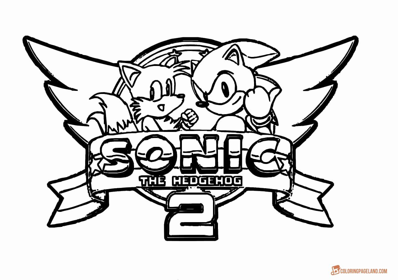 Printable Sonic Mania Coloring Pages