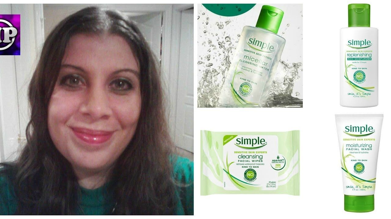 Simple Skincare Review Simple Wipes Face Wash