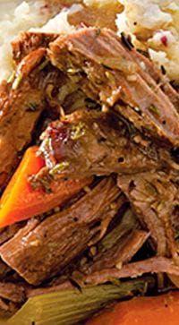Garlicky Eye Of Round Paula Deen Magazine Recipe Slow Cooker Round Roast Round Steak Recipes Crockpot Roast Recipes