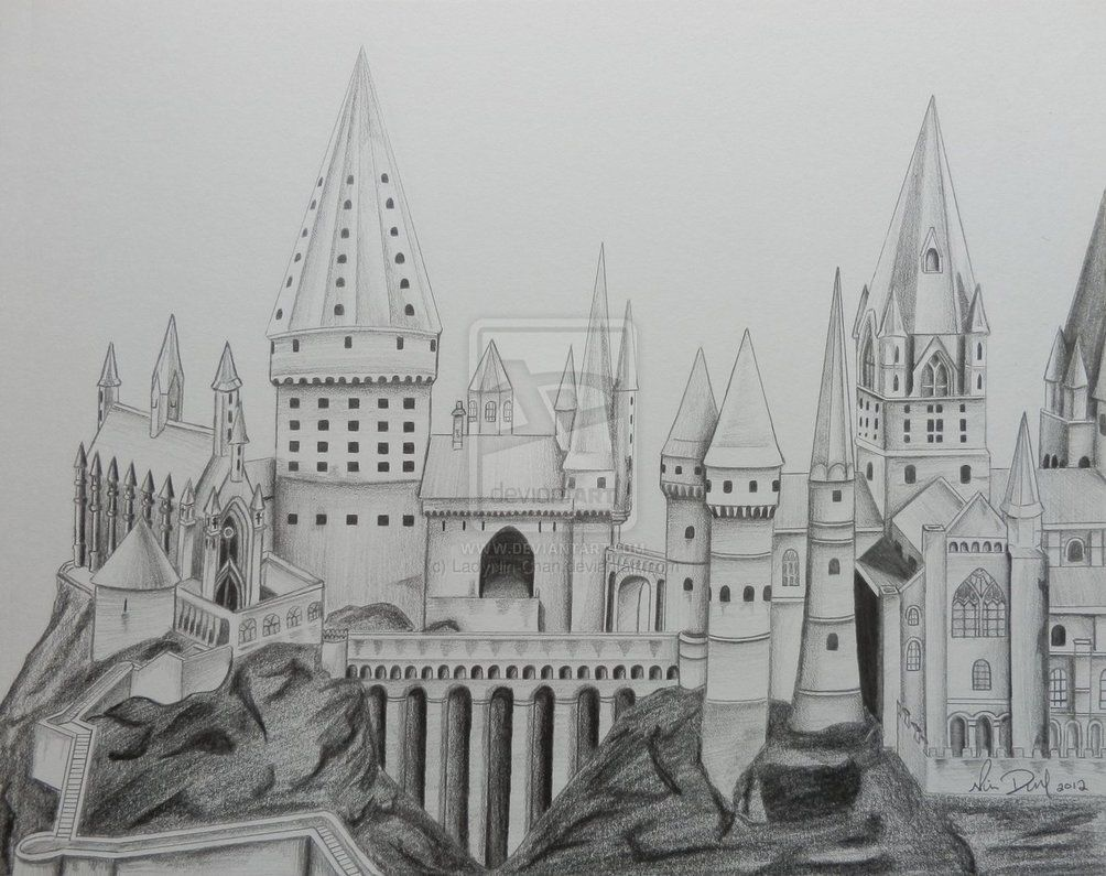 Hogwarts Coloring Page Google Search Castle Coloring Page