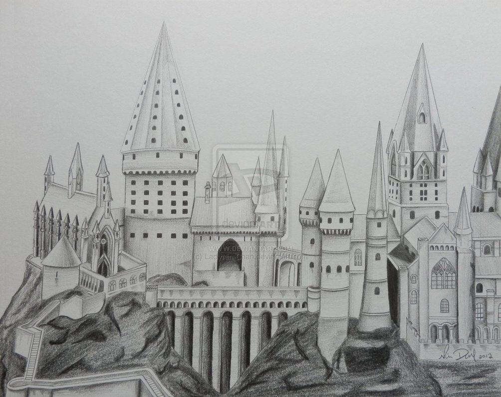 Hogwarts Drawing Google Search Hogwarts Castle Castle Coloring Page Hogwarts
