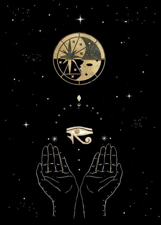 The Eye Of Horus Art Print Terrasoleil Eye Of Horus Horus Ancient Egyptian Symbols