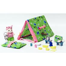 01df468ddc Calico Critters Let's Go Camping MOST of these are DIY-able... esp. the  FABRIC tent & slleping bag!