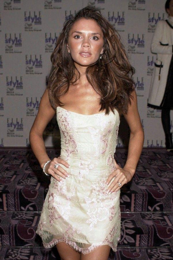 Victoria Beckham At The Elle Awards, 2000